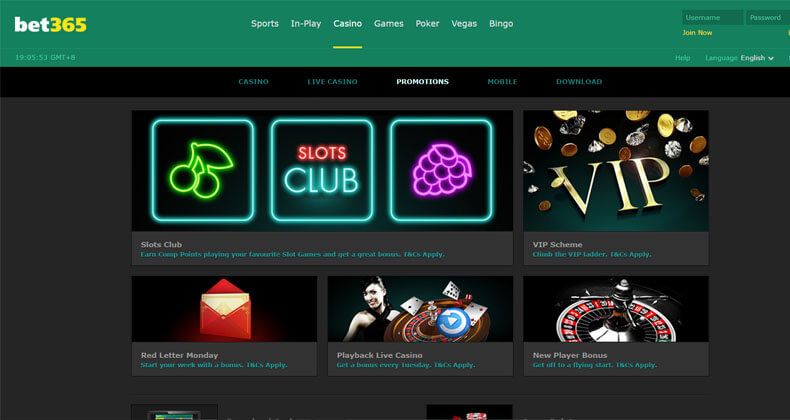Bet 365 Promotions